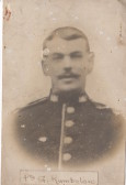 Pte George Rumbellow