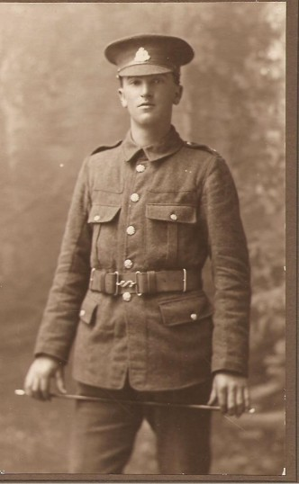 Samworth, Leonard, L/Cpl 15720 11th Suffolk Regiment, Survived WW1, From Balsham