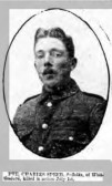 Speed,Charles Regiment number 13781,11th Suffolks died 1st July 1916 from Whittlesford