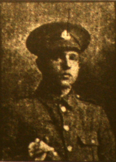 Coles Herbert, Pte 16555, 11th Battalion Suffolk Regiment, Died 1st July 1916. From Whittlesey