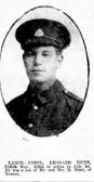 Hunt, Leonard, Regiment number 15212 of 11th Battalion of the Suffolks. Died 1st July 1916 . From Newton.