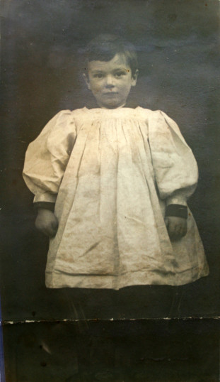 Robert Quilter Gilson As A Young Child