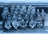 Officers of the Suffolk Regiment, probably 11th Suffolks