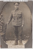 Pte. George Missin 7th Northamptonshire reg, KIA 23/8/1918. From Gorefield