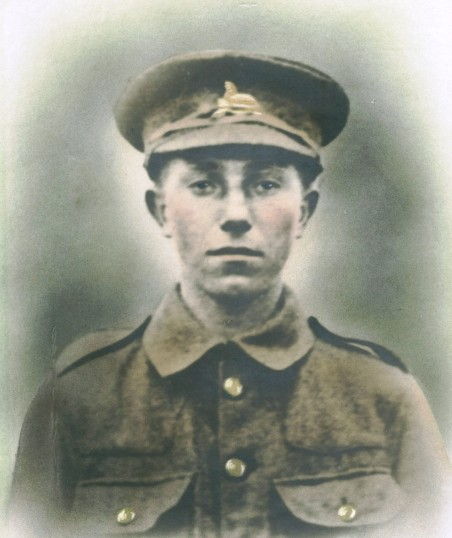 Stimpson, John Morley . Pte regiment number 242529 1st Battalion of Lincolnshire Regiment.From Walpole St Peters, Wisbech.