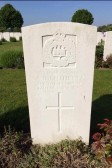 Arthur Cuthbert, 8th Battalion of the Suffolks. Died 12th October 1917. From Gorefield.