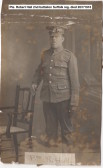 Pte. R. Hall. From Gorefield