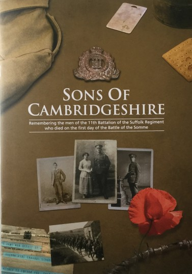 "Publication ""Sons of Cambridgeshire"""
