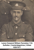 Cprl. William Fennelow of Gorefield