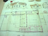 Architects plan for Girls & Infants School, High Street, Haddenham