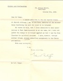 Rejection of subscription for Particular Baptist Church, Aldreth.