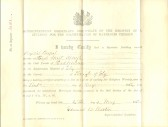 Certificate of the Registry of a Building for the Solemnization of Marriages (Particular Baptist Chapel)