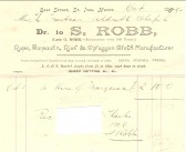 Receipt for marquee for opening of the Particular Baptist Chapel, Aldreth