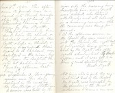 Entries from June 1901 from Minute Book of Particular Baptist Church, Aldreth.