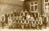 The Infant and Girls School, Haddenham, 1929.