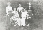 Teachers from the Girls and Mixed Infants School, Haddenham