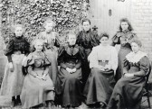 Teachers from Girls and Mixed Infants School, Haddenham