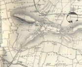 One Inch OS Map of 1821 of Haddenham and Aldreth, Cambridgeshire