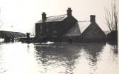 Allen's Farm during the 1947 floods