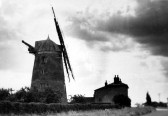 The Great Mill standing derelict after it stopped working in 1946.