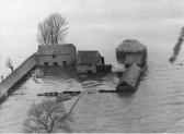 Cracknell Farm, Long Drove, Haddenham in the 1947 floods