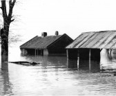 Causeway Farm in the floods of 1947