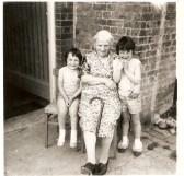 Alice Johnson (nee Jackson) and Grandaughters