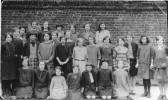 Girls School, Haddenham, 1926.