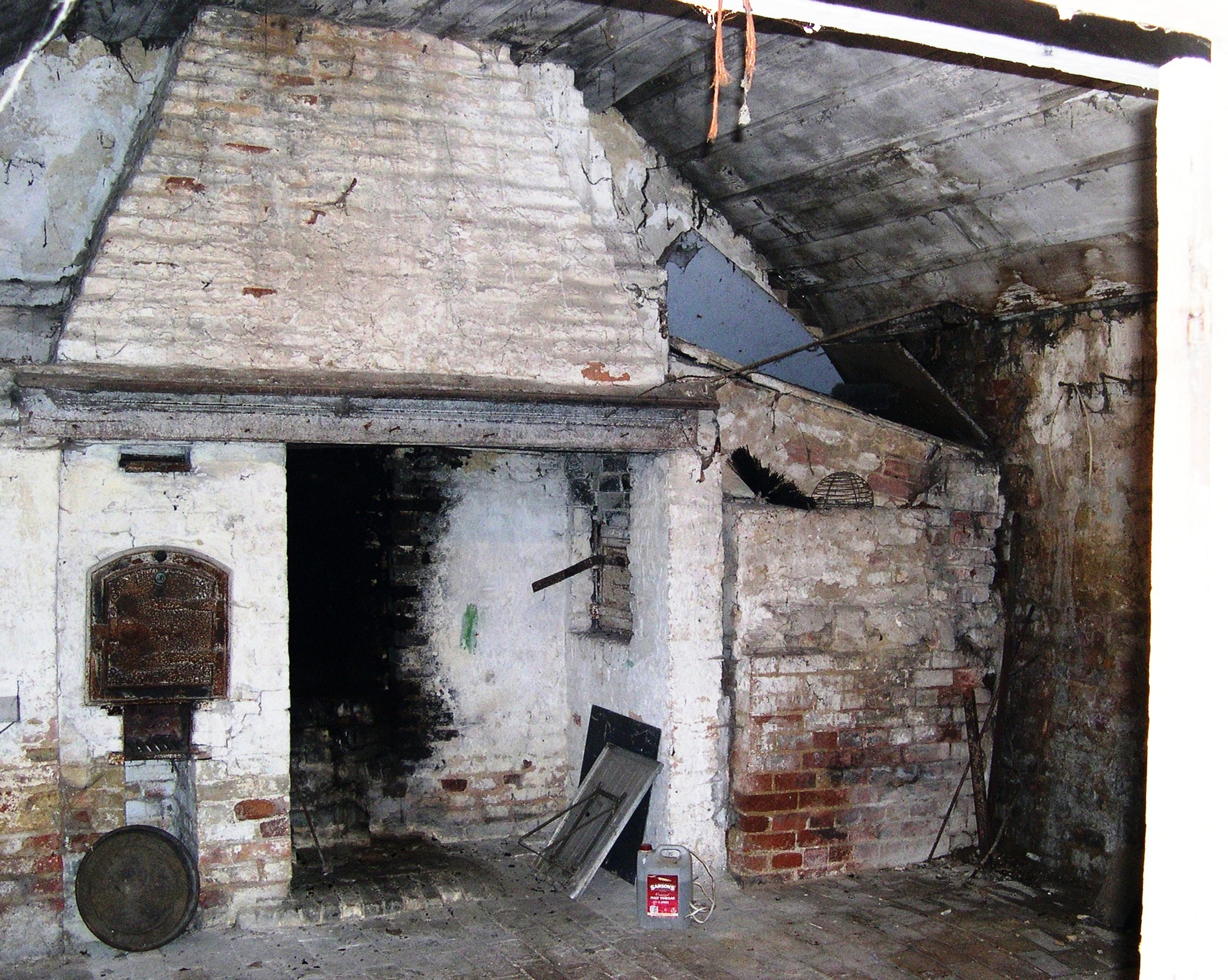 Inside the old bakery at highfield house domestic for Classic house bakery