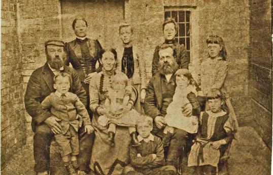 The Burkett family, 1892