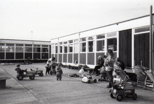 The Pre-school playground in the Social Club