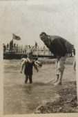 Russell Smith and his father Cyril Smith 1938