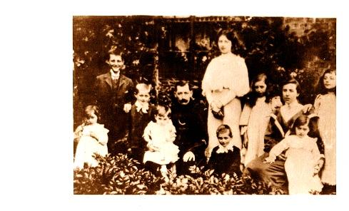 Smith Family of the Manse, Wilburton, 1908