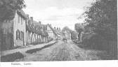 Balsham - High Street, looking up towards the Manor House.
