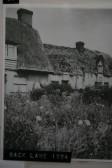 Balsham - Cottages in Back Lane 1924