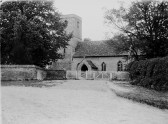 West Wickham - Photograph of St Mary's Church taken pre-1922