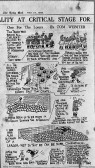 Hildersham - 'The Hildersham Rangers' - cartoon about the football team in the Daily Mail