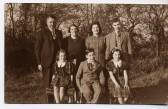 Great Abington - Land Settlement Association. The Beavis family, tenants at 2 Pampisford Road.