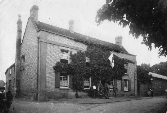 Linton - Red Cross VAD Hospital at the Manor House by Coles Lane. Here from 1915 to 1919