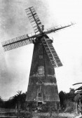 West Wickham - Windmill at Streetly End, before the sails blew off, c1895