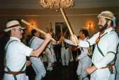 Balsham - Morris men dancing on Plough Monday