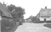 Balsham - West Wratting Road. Orchard Cottage is on the right.