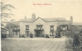Balsham - The Manor.  This is one of Edgar Morley's postcards.