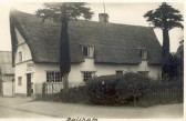 Balsham - The Old Post Office in the West Wratting Road.  It was run by the May family at the time.