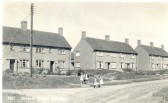 Balsham - the council houses on West Wratting Road