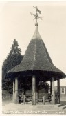 Balsham - the Prince Memorial Shelter: built in 1932 under the will of Anne Ellen Prince in memory of her brother William.