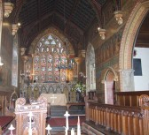 Hildersham, Holy Trinity Victorian Painted Chancel