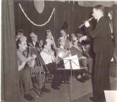 Huntingdon Methodist Church Men's Club Buzwka (Bazooka?) Band.