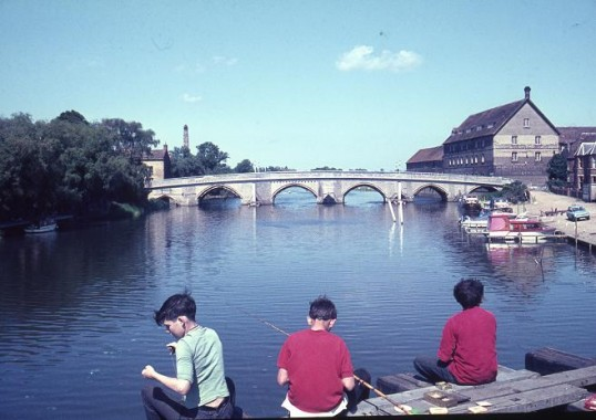 The Bridge, Huntingdon. Image courtesy Frank Fielding.