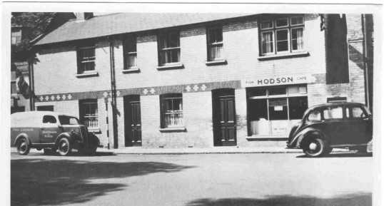 Hodson Fish and Chip shop early 1950s - High Street, Huntingdon